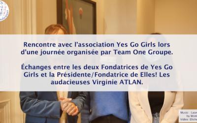 Échanges avec l'association Yes Go Girls