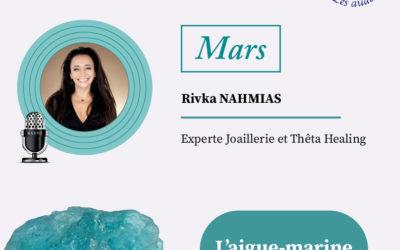 Pierre du mois de mars avec Rivka Nahmias